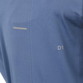 asics Seamless - T-shirt manches longues running Femme - bleu